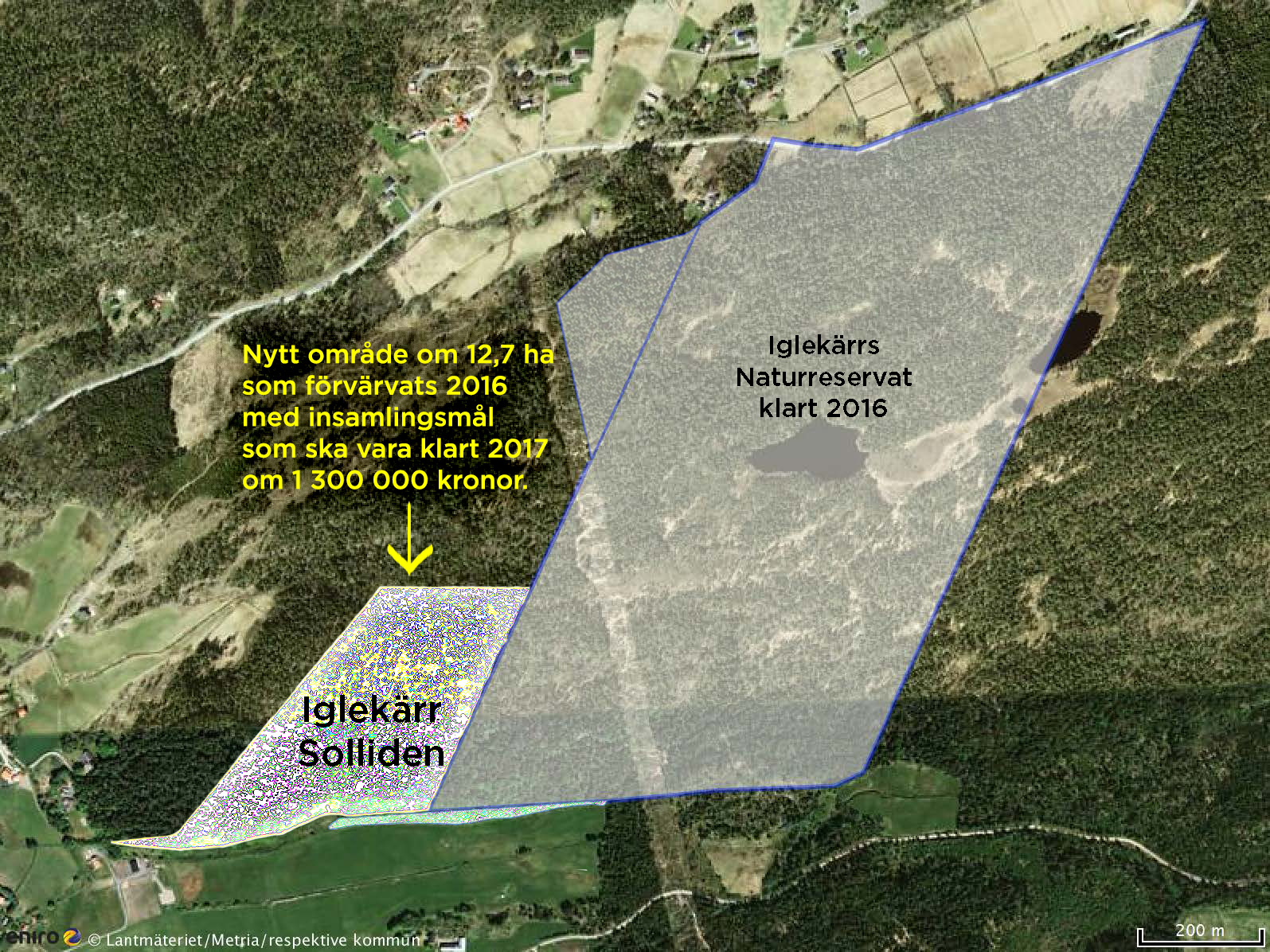 Solliden - Ny skog som bevaras 2017