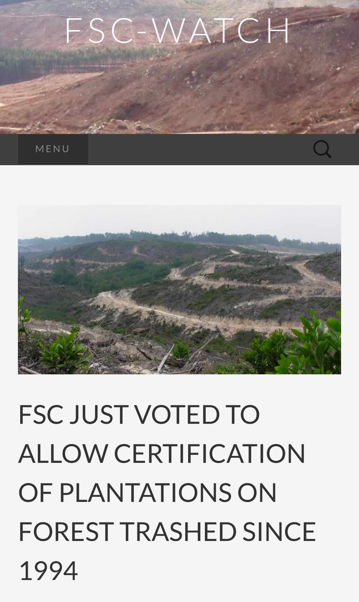 FSC Watch