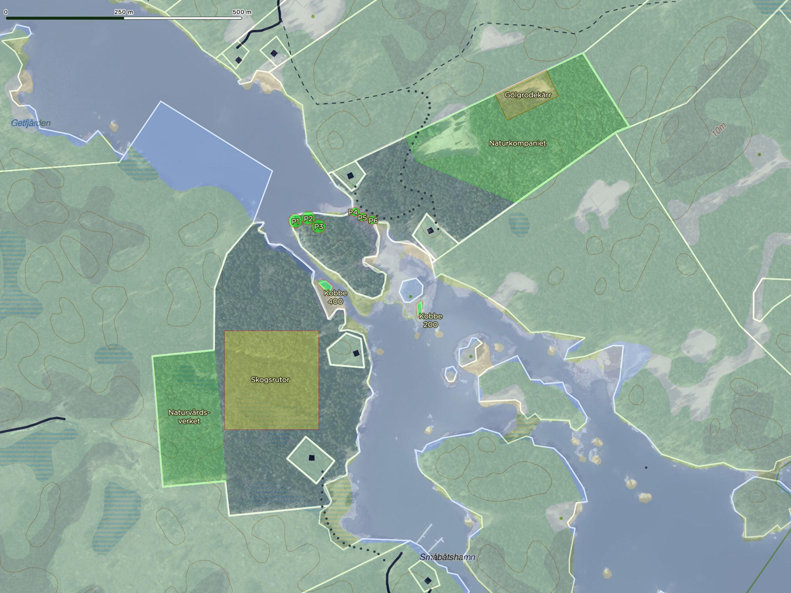 Insamlingskarta Svartsundet